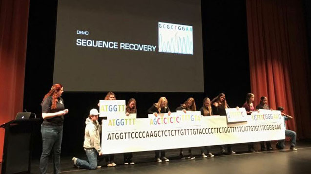 DNA sequence recovery